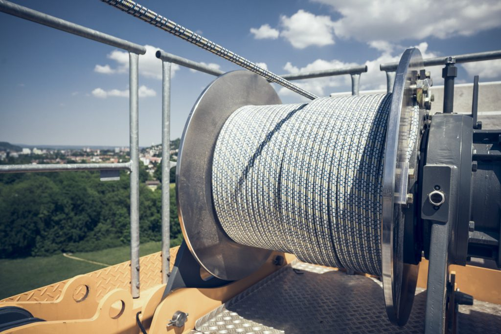 Liebherr concludes test phase for its first high-tensile
