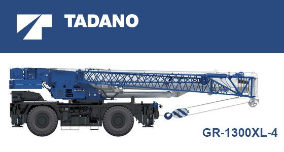 Tadano rough terrain GR-1300XL-4