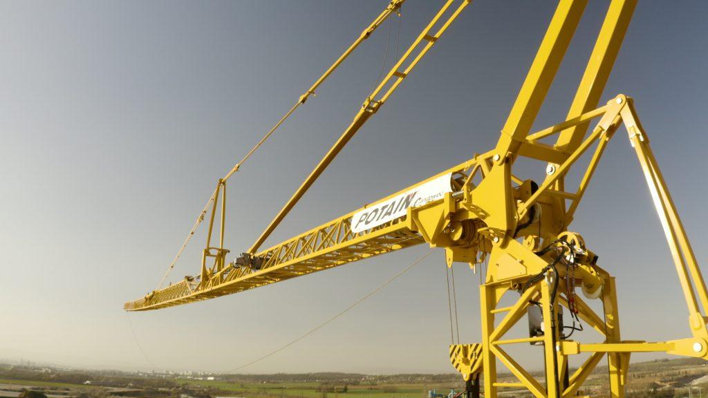 Manitowoc unveils its latest Potain telescopic self-erecting crane